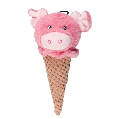 6043---Brinquedos-para-Pet---Pelucia-Ice-Cream-Buddies---Porco---Pet-Brink---FRENTE