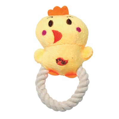 6056---Brinquedos-para-Pet---Mordedor-String-Friends---Pato---Pet-Brink---FRENTE