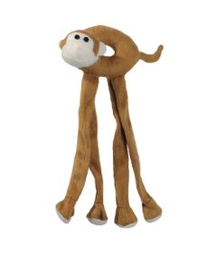 6062---Brinquedos-para-Pet---Pelucia-Leg-Friends---Macaco---Pet-Brink---FRENTE