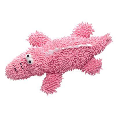 6064---Brinquedos-para-Pet---Pelucia-Fuzzy-Crocodilo---Pet-Brink---FRENTE