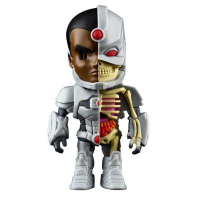 Figura-Colecionavel---10-Cm---XXRay---Liga-da-Justica---Cyborg---Edimagic