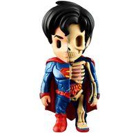 Figura-Colecionavel---10-Cm---XXRay---Liga-da-Justica---Superman---Edimagic