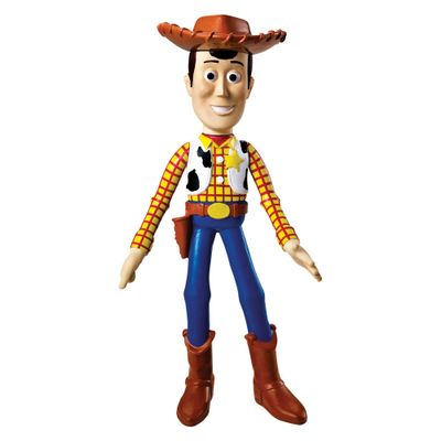 Boneco-de-Vinil---18-Cm---Disney---Pixar---Toy-Story---Woody---Lider
