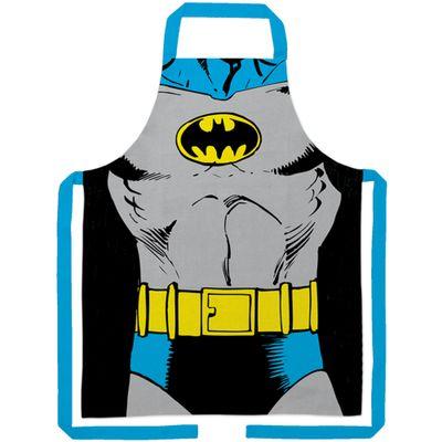 Avental-de-Algodao---DC-Comics---Corpo-do-Batman---Preto---Metropole