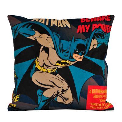 Capa-para-Almofada---DC-Comics---Batman---Beware-My-Powers---45x45---Azul---Metropole