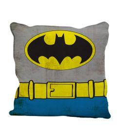 Capa-para-Almofada---DC-Comics---Batman---Body-Customs---45x45---Cinza-e-Azul---Metropole