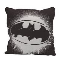 Capa-para-Almofada---DC-Comics---Batman---Logo-Grafite---Preto---45x45---Metropole