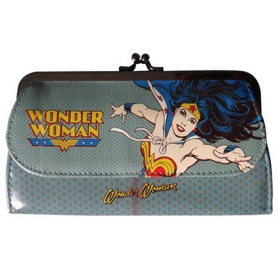 Carteira-Feminina---DC-Comics---Mulher-Maravilha-Azul---Metropole