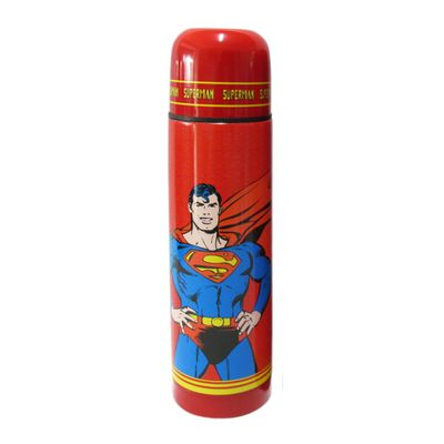 Garrafa-Termica---500-Ml---DC-Comics---Superman---Vermelho---Metropole