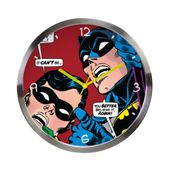 Relogio-de-Parede-de-Metal---DC-Comics---Batman-e-Robin-olhando-para-cima---Metropole