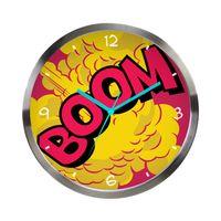 Relogio-de-Parede-de-Metal---DC-Comics---Boom---Colorido---305x38cm---Metropole