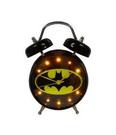 Relogio-Mesa-Despertador-de-Metal---DC-Comics---Batman---Com-Som---Preto---Metropole