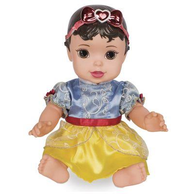Boneca-de-Vinil---30-Cm---Disney---Princesas---Baby-Branca-de-Neve-Luxo---Mimo