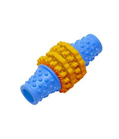 Brinquedos-para-Pet---Mordedor-Gear-P---Laranja-e-Azul---Pet-Brink