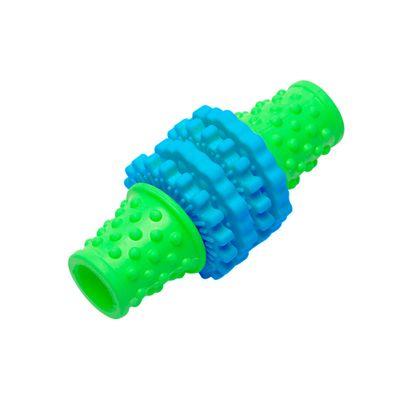 Brinquedos-para-Pet---Mordedor-Gear-P---Verde-e-Azul---Pet-Brink
