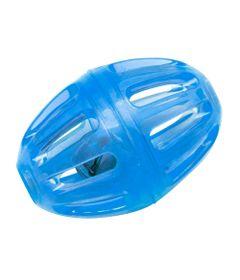 Brinquedos-para-Pet---Rattle-Futball-P---Azul---Pet-Brink