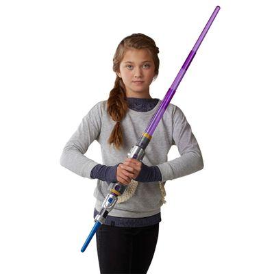 Sabre-de-Luz-Eletronico---Disney---Star-Wars---Forces-Of-Destiny---Jedi---Hasbro-Frente