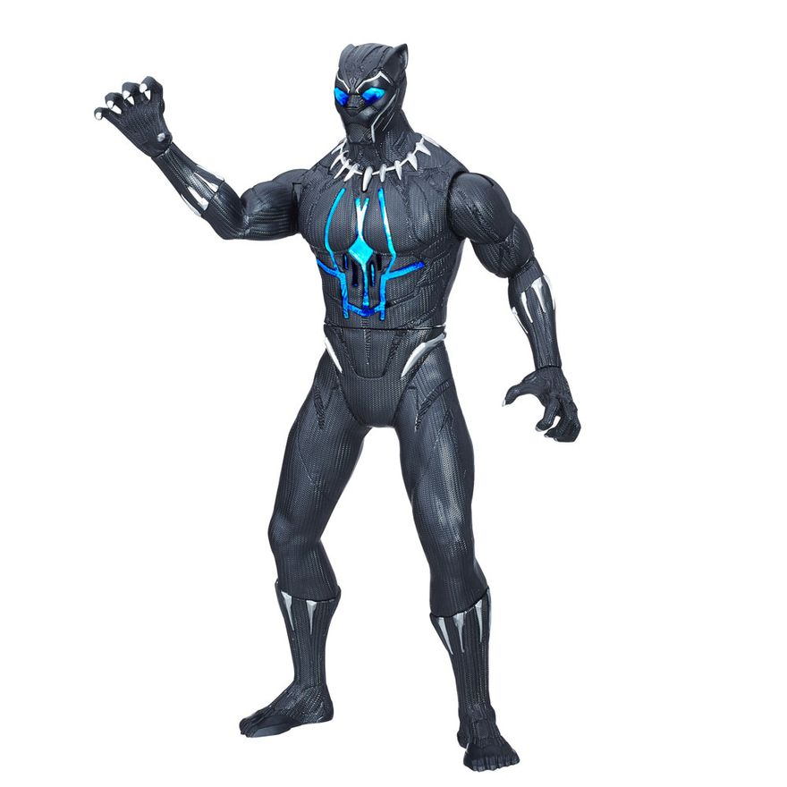 Boneco-Eletronico---Disney---Marvel---Pantera-Negra---Hasbro-Frente