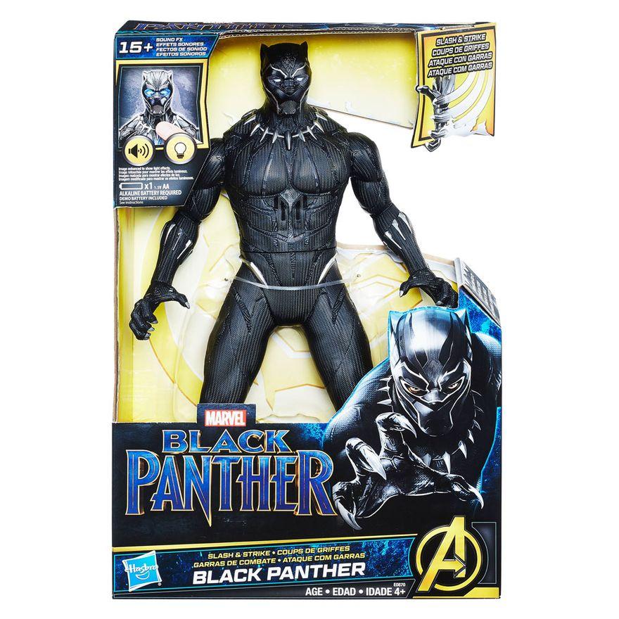 Boneco-Eletronico---Disney---Marvel---Pantera-Negra---Hasbro-Embalagem