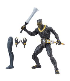 Figura-de-Acao---25-Cm---Disney---Marvel-Legend-Series---Erik-Killmonger---Hasbro-Frente