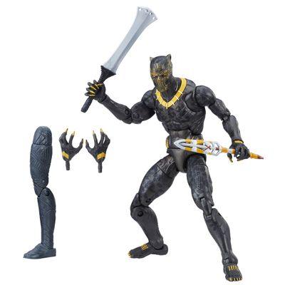 Figura-de-Acao---25-Cm---Disney---Marvel-Legend-Series---Erik-Killmonger---Hasbro-Frente