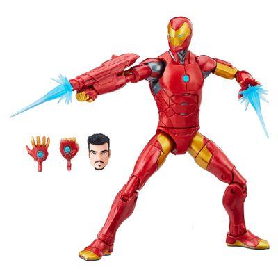 Figura-de-Acao---25-Cm---Disney---Marvel-Legend-Series---Iron-Man---Hasbro-Frente