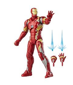 Figura-de-Acao---25-Cm---Disney---Marvel-Legend-Series---Civil-War---Iron-Man---Hasbro-Frente
