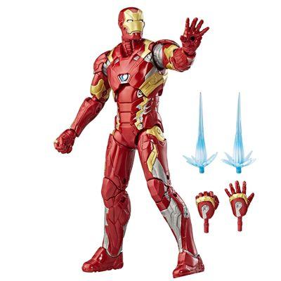Figura-de-Acao---25-Cm---Disney---Marvel-Legend-Series---Civil-War---Iron-Man---Hasbro-Frente