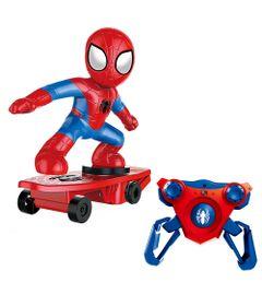 Veiculo-de-Figura-de-Controle-Remoto---Disney---Marvel---Spider-Man---Spider-Skate---Candide
