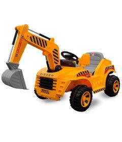 Veiculo-Eletrico---12-V---Trator-Amarelo---Bandeirante