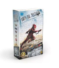 Quebra-Cabeca-200-Pecas-DC-Comics-Liga-da-Justica-The-Flash-O-Filme-Grow-Embalagem-correto