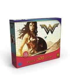 Quebra-Cabeca---500-Pecas---DC-Comics---Liga-da-Justica---Mulher-Maravilha---Grow-embalagem