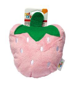 Brinquedos-para-Pet---Pelucia-Fun---Morango---Rosa---Pet-Brink