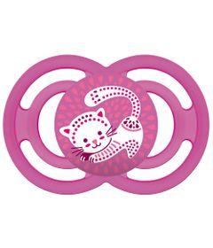 Chupeta-Perfect-Silicone---Fase-2---Rosa-Gatinho---MAM