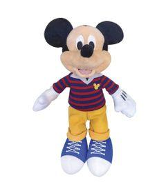 Pelucia-18-Cm---Disney---Mickey-Mouse---Tenis-Azul---DTC-Frente