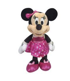 Pelucia-18-Cm---Disney---Minnie-Mouse---Saia-de-Bolinhas---DTC-frente