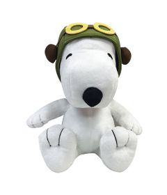 Pelucia-Media---30-Cm---Snoopy---Aviador---DTC-frente