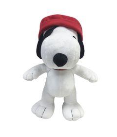 Pelucia-Media---30-Cm---Snoopy---Chapeu-Vermelho---DTC-frente