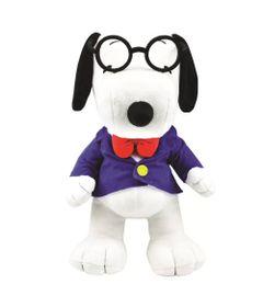 Pelucia-Media---30-Cm---Snoopy---Gravata-e-Oculos---DTC-Frente