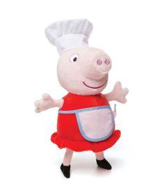 Pelucia-30-Cm---Peppa-Pig---Chef-Peppa---Estrela-frente