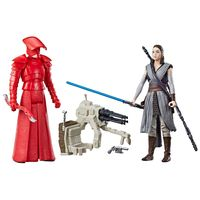 Figuras-Articuladas---20-Cm---Disney---Star-Wars---Rey-e-Vilao---Episodio-8---Force-Link---Hasbro-frente