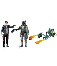 Figuras-Articuladas---20-Cm---Disney---Star-Wars---Han-Solo-e-Boba-Fett---Episodio-8---Force-Link---Hasbro-frente