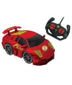 Carrinho-de-Controle-Remoto---DC-Comics---Liga-da-Justica---Dynamic-Racer---Flash---Candide