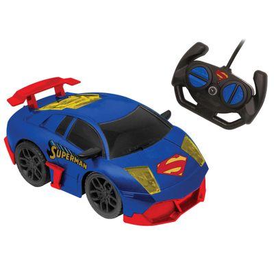Carrinho-de-Controle-Remoto---DC-Comics---Liga-da-Justica---Dynamic-Racer---Superman---Candide