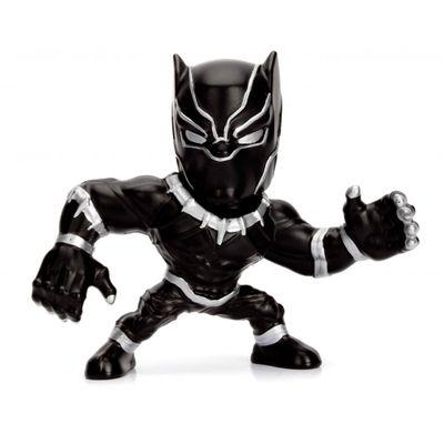 Figura-Colecionavel-6-Cm---Metals-Die-Cast---Disney---Marvel-Avengers---Pantera-Negra---DTC