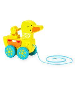 Figura-de-Madeira---Patinho-Puxa-e-Empurra---Imaginarium---New-Toys