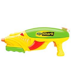 Lancador-de-Agua---Water-Warriors---Shark---Amarelo-e-Verde---New-Toys