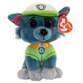 Pelucia-15-Cm---Beanie-Babies---Patrulha-Canina---Rocky---DTC