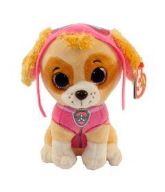 Pelucia-15-Cm---Beanie-Babies---Patrulha-Canina---Skye---DTC