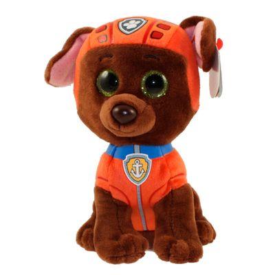 Pelucia-15-Cm---Beanie-Babies---Patrulha-Canina---Zuma---DTC